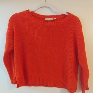 Tops - Red crop top